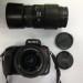 Sony A350+ 18-55mm +70-300mm objektívek