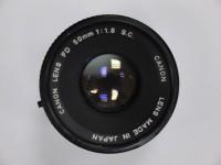 Canon FD 50mm 1:1.8 S.C.