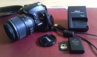 Nikon D3200+18-55 mm VR tükörreflexes fényképezőgép eladó!