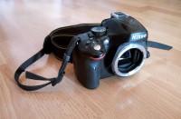 Nikon D5100 tükörreflexes fényképezőgép váz