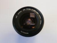 Minolta 28-70 MD zoom objektív