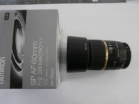 Tamron SP AF 60mm/2 DI2 Macro 1:1 objektív