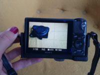 Sony DSC-RX100, fekete bőrtokkal