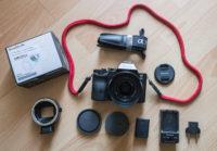 Eladó Sony A7s Mark I + Sony 28mm f2 + Fotodiox Canon adapter + tartalék aksi + töltő