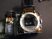 Sony A580 zár csere képekben