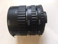 Makro digitális közgyűrű sor Nikonra