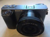 Sony A6000 + 16-50 objektív